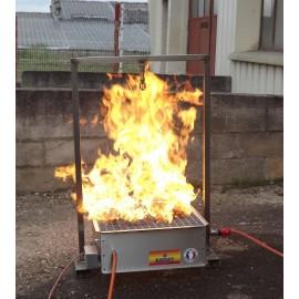 Générateur de Flammes Écologique Sans Eau