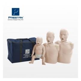 Pack 3 Mannequins Famille Prestan