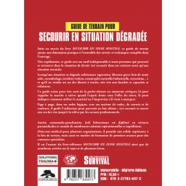 GUIDE DE TERRAIN POUR SECOURIR EN SITUATION DÉGRADÉE - JOEL SCHUERMANS
