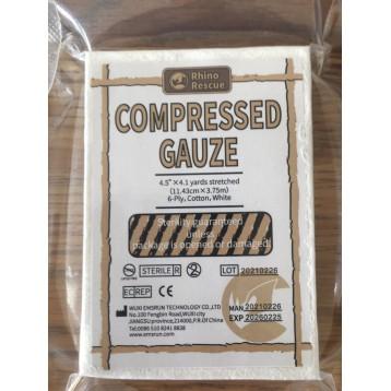Compressed Gauze Fluff Bandage Roll Training