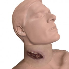 Wearable Neck Wound
