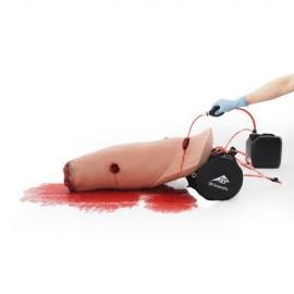 Jambe d'entraînement au contrôle des hémorragies