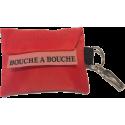 Porte-clés Masque Bouche à Bouche avec Gants