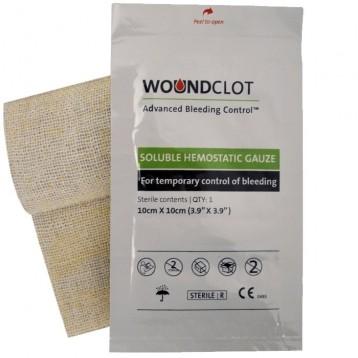 Pansement Hémostatique WoundClot 10X10 cm