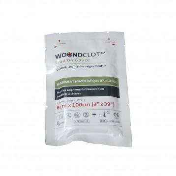 Pansement Hémostatique WoundClot 8X100 cm